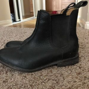 Free People Janice Chelsea Boot Black size 7